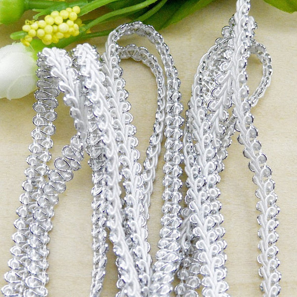 5m/lot Lace Trim Fabric Sewing Lace Centipede Braided