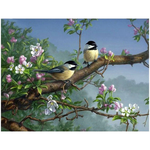 Full 5D Diamond Painting Animal Bird&Flower