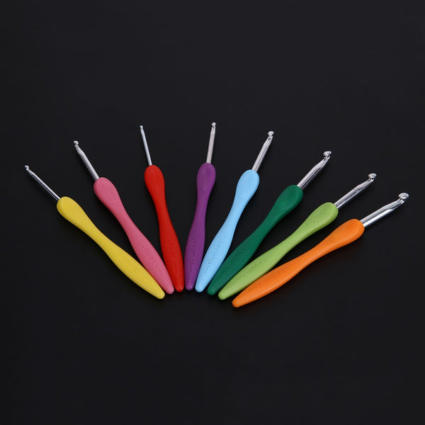 8pcs/set Sewing Needles Aluminium Crochet Hooks