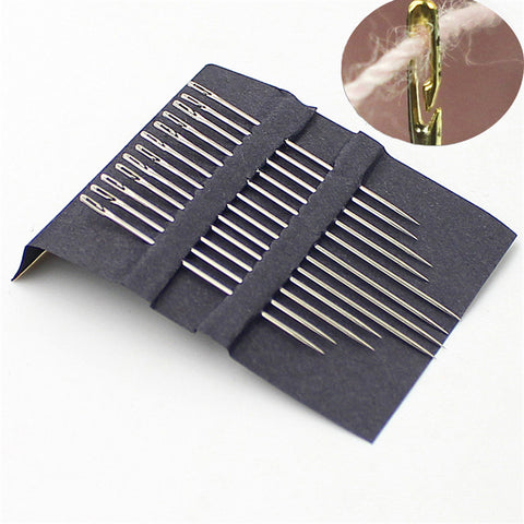 12pcs Self Threading Needles