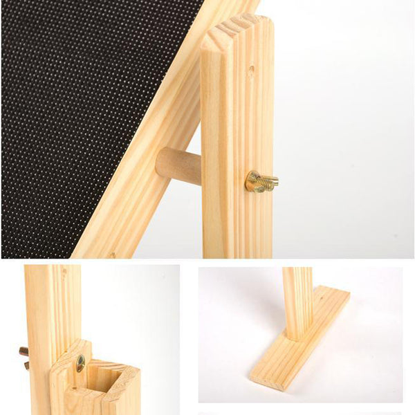 Adjustable Solid Wood Cross Stitch Rack