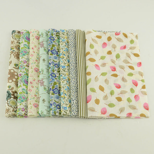 "50 pcs Cotton Fabric (4"" x 5"") Art Work Crafts"