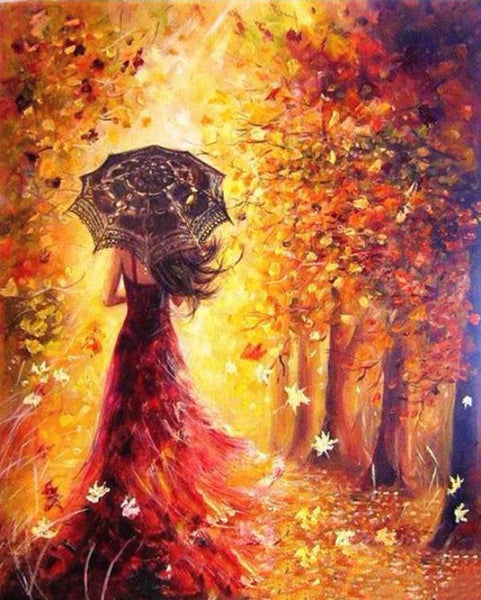 Beautiful Women Autumn