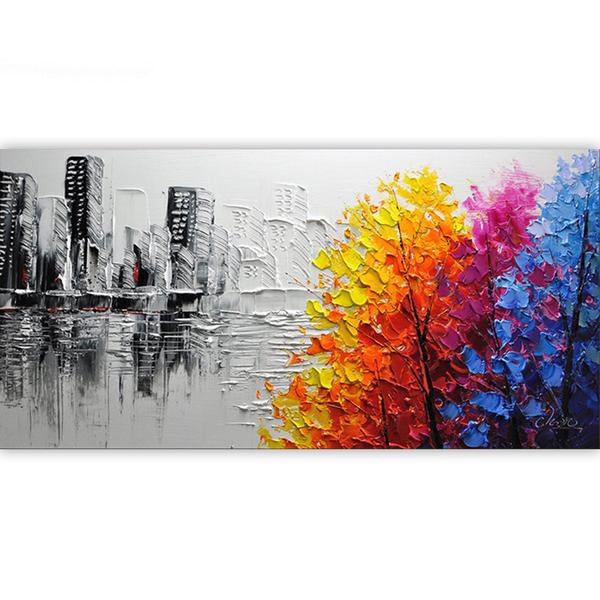 Frame Abstract Picture Painting By Numbers