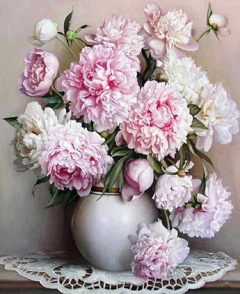 Pink and White Floral Arrangement