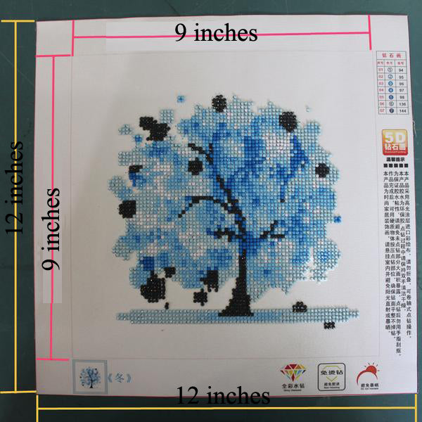 5D Trees Diamond Embroidery Pictures of Rhinestone