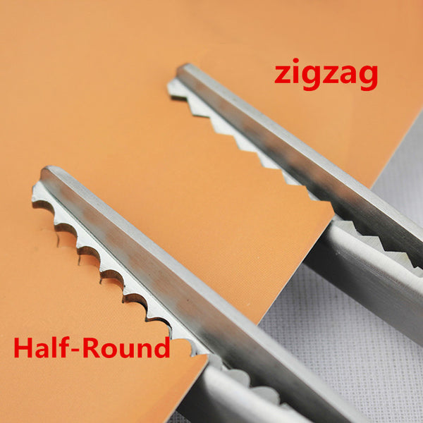 Zigzag Wave Tailor's Scissors 3/5/7mm