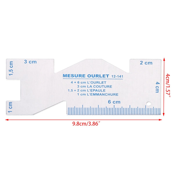 Sewing Patchwork Ruler Quilting Grid Cutting Sewing Tailor