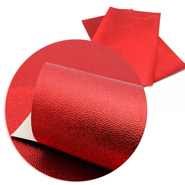 "Leather Fabric (8"" x 13"") Faux Artificial Synthetic"