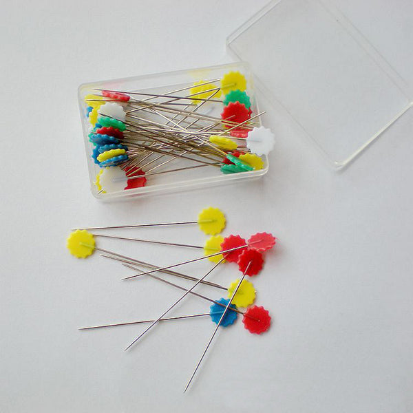 50 Multi Color Sewing Pins Sewing Accessories