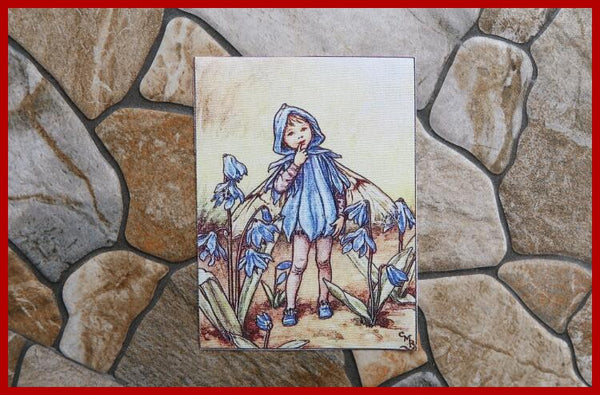 "10pcs Hand Dyed Fabric (5"" x 6"") New Fairies Collection"