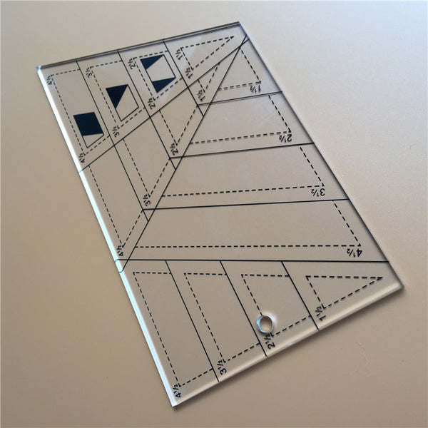 Multifunction Quilting Ruler