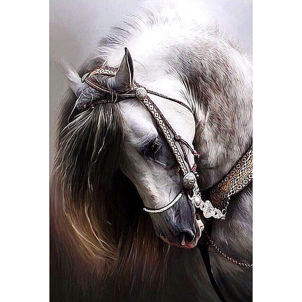 "Full Square Diamond 5D Diamond Painting ""Horse"""