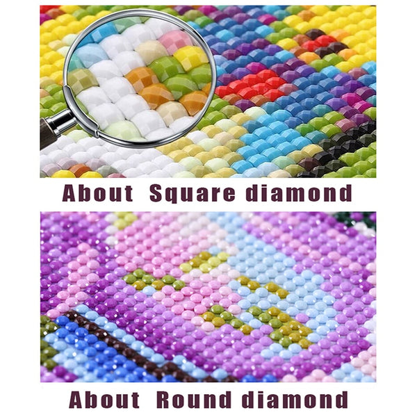 Full Square Drill 5D Diamond Painting Cola Car