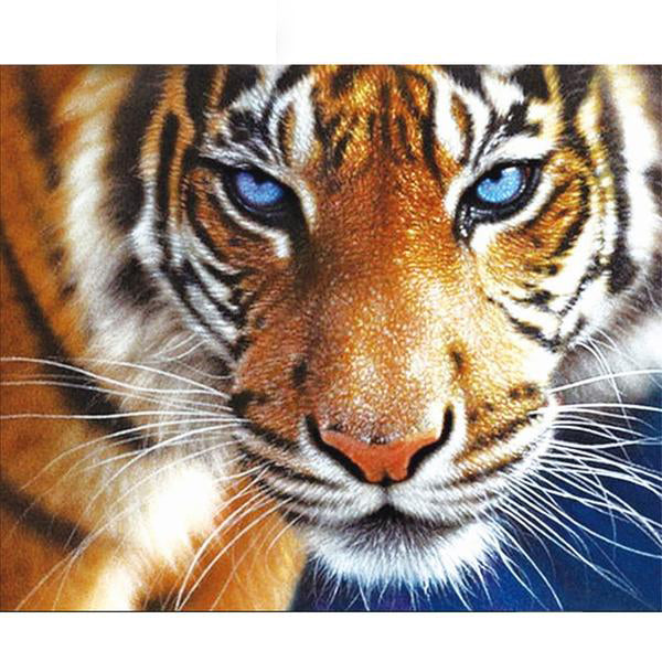 Tiger Diamond Painting Cross Stitch Animal