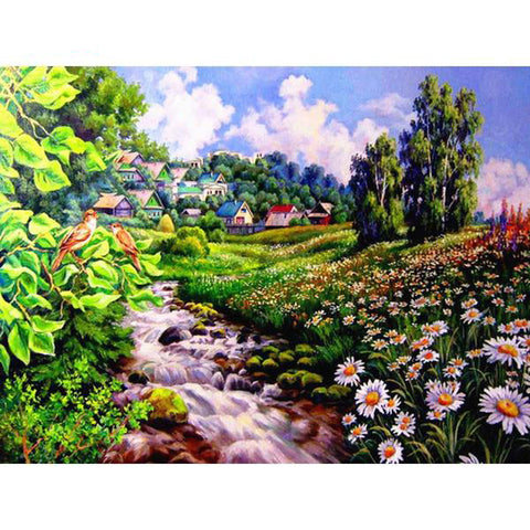 5D Diamond Painting Full Square Scenic And Bird