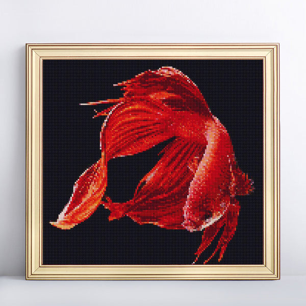 3D Diamond Painting Fish