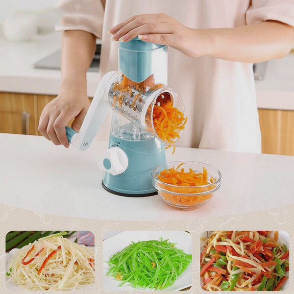 New Multi function Chopper Rotating Grater