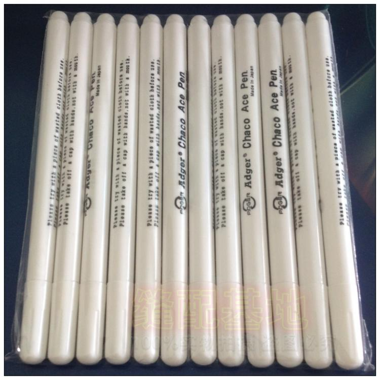 12Pcs White Water Soluble Quilting Pen