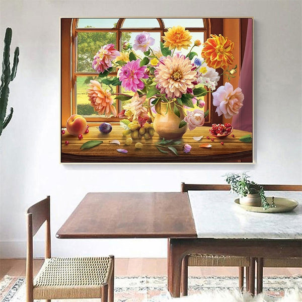 Diamond Painting Full Square Floral