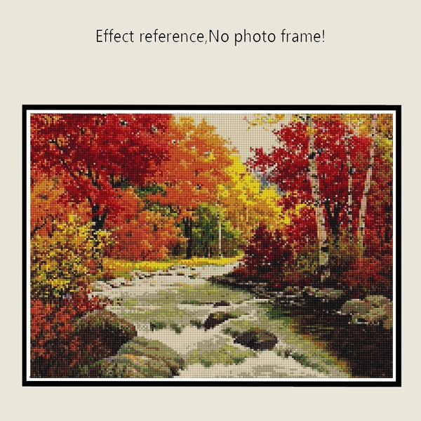 Diamond Painting 5D Autumn Scenery