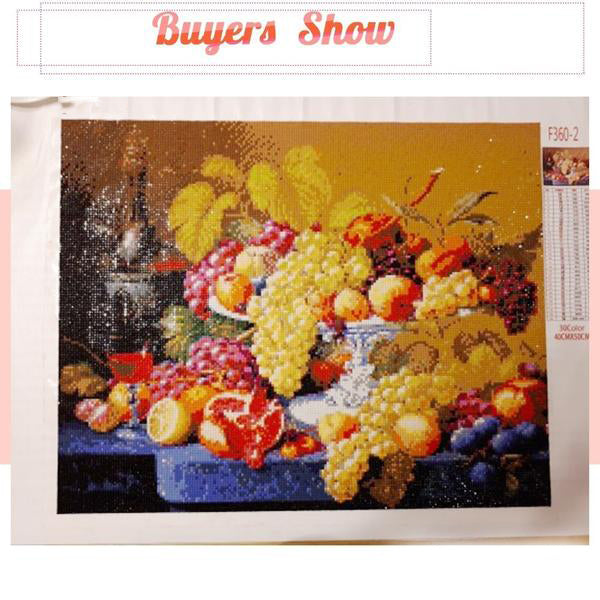 Fruit Diamond Painting Mosaic Crystal Rhinestone