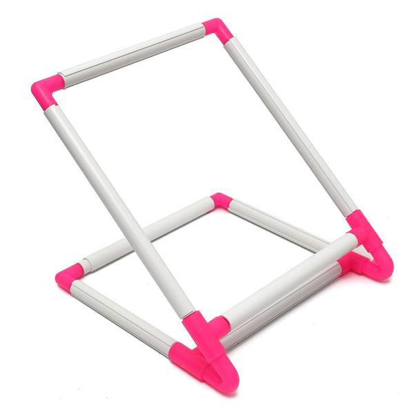 Rectangle Clip Plastic Embroidery Frame Cross Stitch
