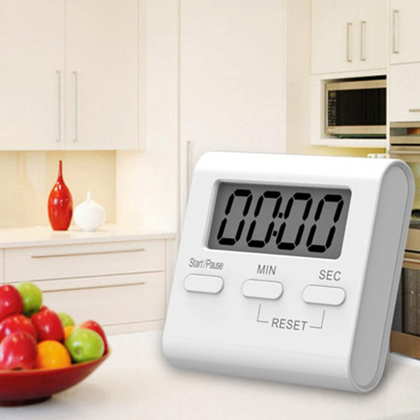 LCD Digital Kitchen Cooking Timer Count-Down Up