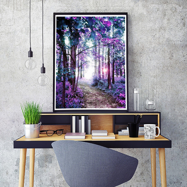 5D Diamond Painting Scenery Tree