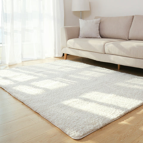 Living Room Area Rug Solid Carpet