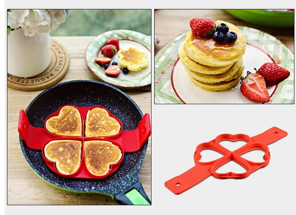 4 Styles Fantastic Silicone Nonstick Mold