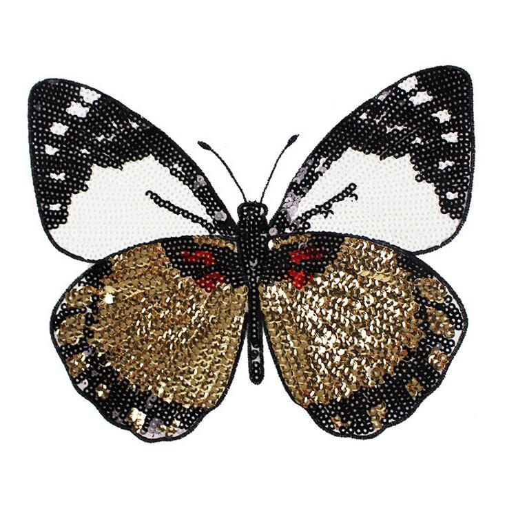 New Butterfly Embroidery Lace Patch