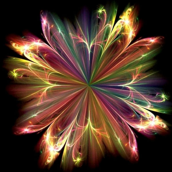 5D diamond painting New Fantasy Flower