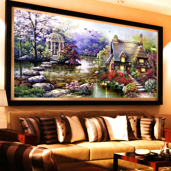 New Garden 5D Diy Diamond Painting