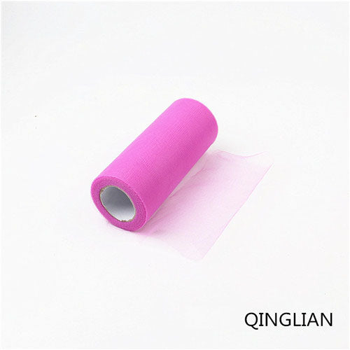 "10"" 25 yards Tulle Roll Wedding Decoration"