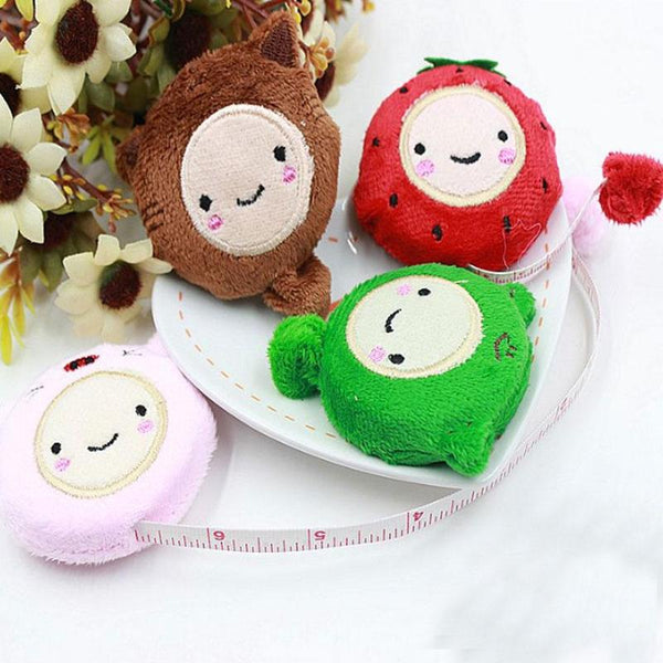 Retractable 1.5 Meter Soft Ruler Novelty Nice Cute Cartoon