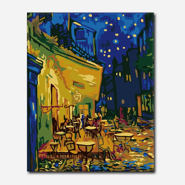 Painting By Numbers Home Wall Art Picture