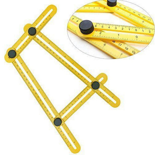 Angle square Tool Four-Sided Ruler Mechanism Slide