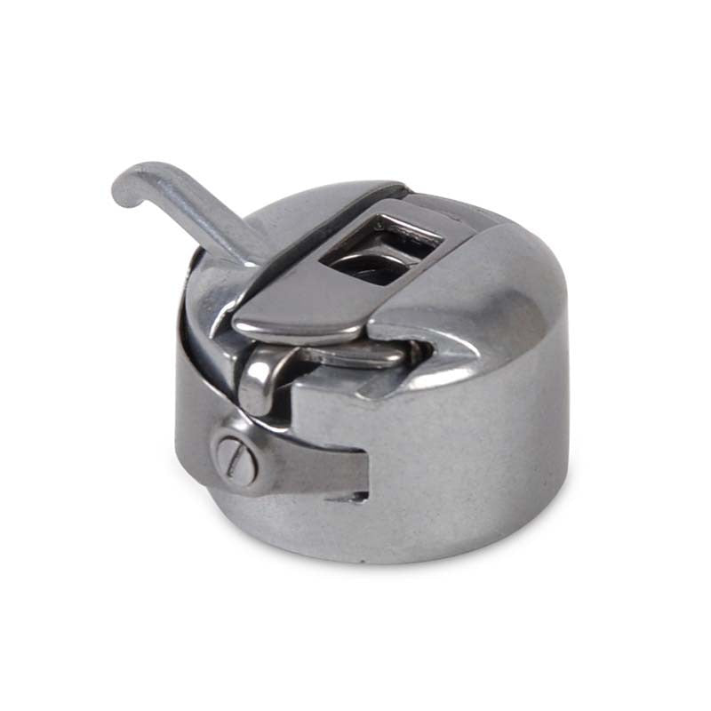 Silver Sewing Machine Metal Bobbin Spool Case