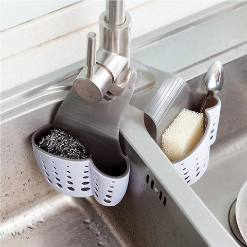 Suction Cup Sink Shelf Drain Rack