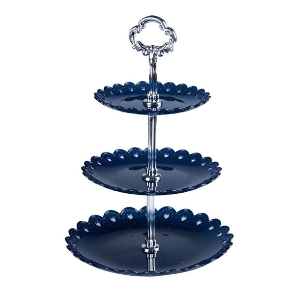 Three-layer Fruit Plate Cake Stand