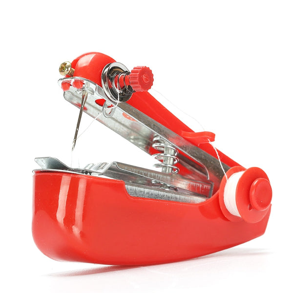 Portable Mini Sewing Machines Needlework Cordless