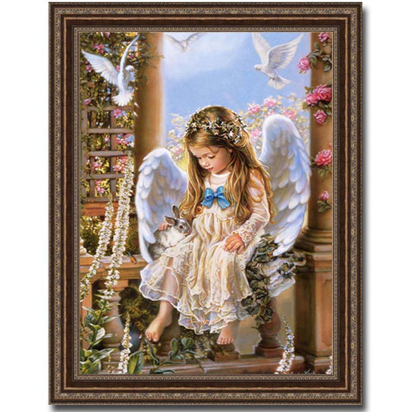 5D Diamond Painting Angel Gir