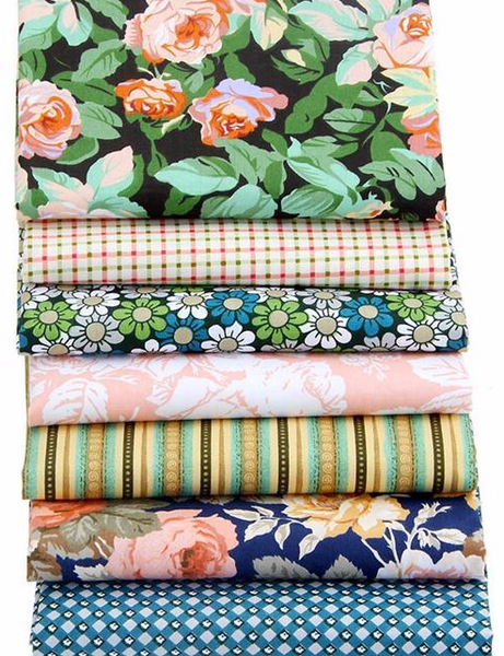 "New Floral 7 Pcs  Bundle  16""x20"" (40x50cm)"