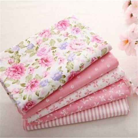 "5 Pieces Pink Fat Quarters 16""X20"""