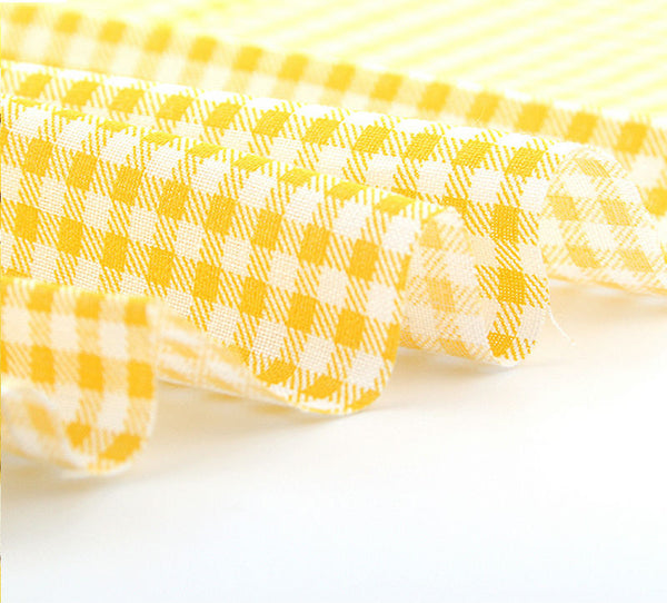 6 Piece Lot Fat Quarter (20″ X 20″) Canary Collection