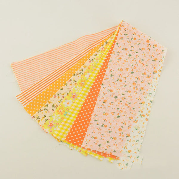 "7 PCS Fabric Cotton (4"" x 20"") Jelly Rolls Strips"