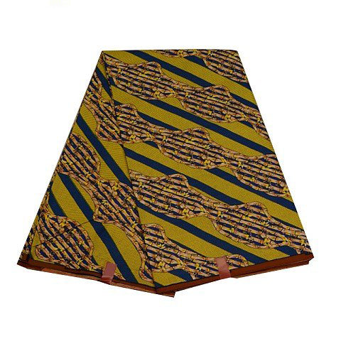 African Real Wax Hollandais Dutch Wax Fabric