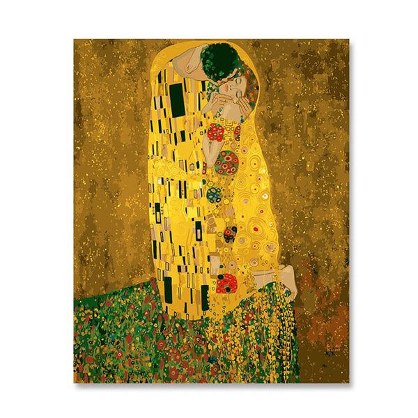 Painting by Numbers Kissing