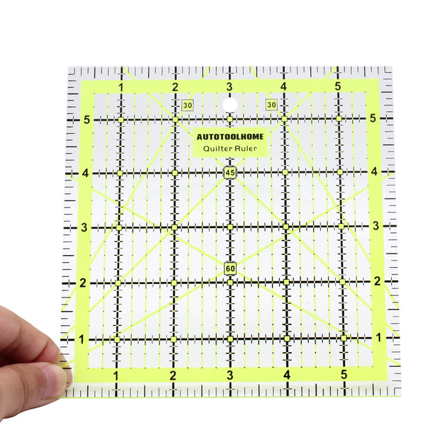 6*6 inch Quilting Ruler